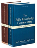 The Bible Knowledge Commentary, 2 Volumes